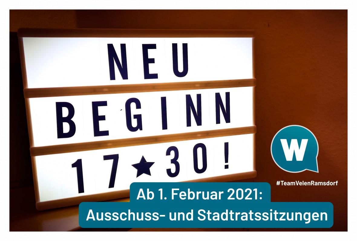 Was sich ab dem 1. Februar 2021 in der Stadt Velen ändert